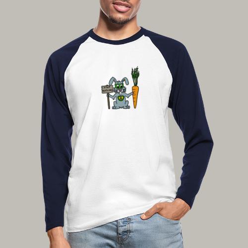 Green Rabbit - T-shirt baseball manches longues Homme