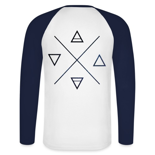 DIVISION - NACEY - T-shirt baseball manches longues Homme