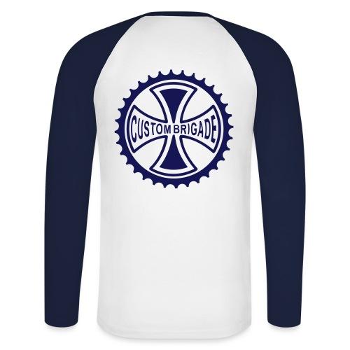 croix4 - T-shirt baseball manches longues Homme