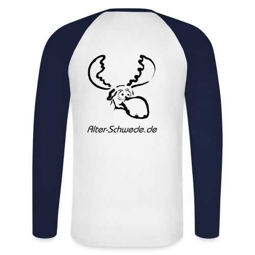 Darling Alter Schwede - Männer Baseballshirt langarm