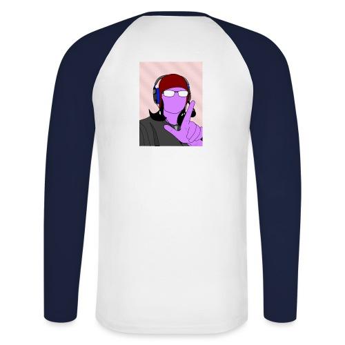 Lemon - Men's Long Sleeve Baseball T-Shirt