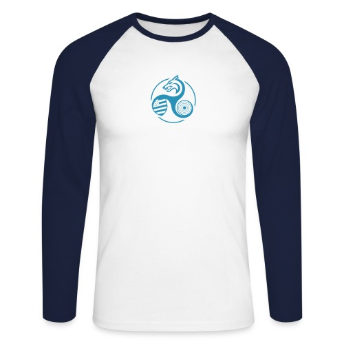 minitriskell - T-shirt baseball manches longues Homme