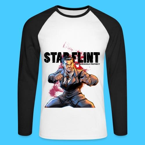 StarFlint Draco Vargas 2 - T-shirt baseball manches longues Homme