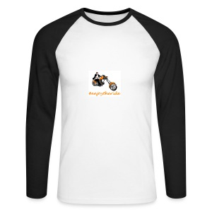 enjoytheride - T-shirt baseball manches longues Homme