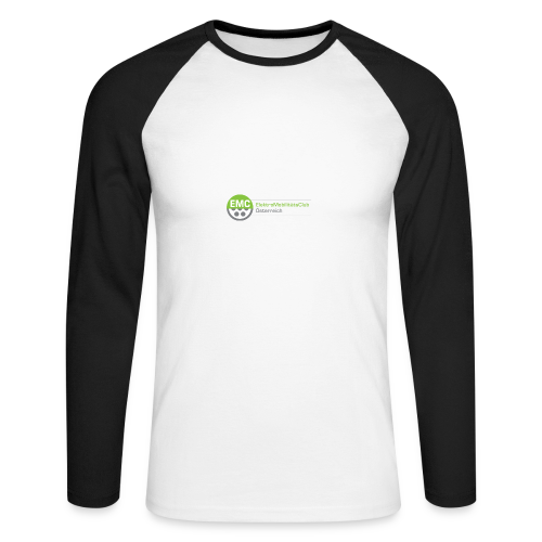 ElektroMobilitätsClub Logo - Männer Baseballshirt langarm