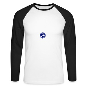 THIS IS THE BLUE CNH LOGO - Men's Long Sleeve Baseball T-Shirt