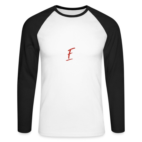 Radio Fugue F Rouge - T-shirt baseball manches longues Homme