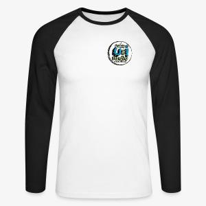 U & I Logo - Men's Long Sleeve Baseball T-Shirt
