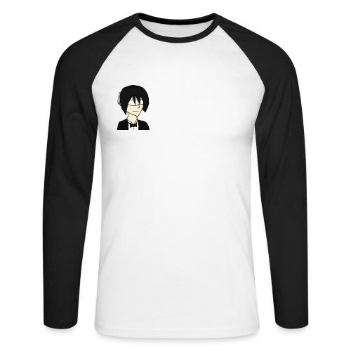 Penguin Rico - Langærmet herre-baseballshirt
