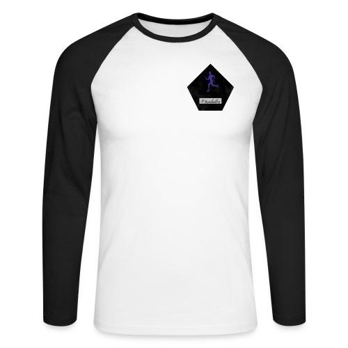#tb - Men's Long Sleeve Baseball T-Shirt