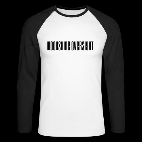 Moonshine Oversight logo - T-shirt baseball manches longues Homme