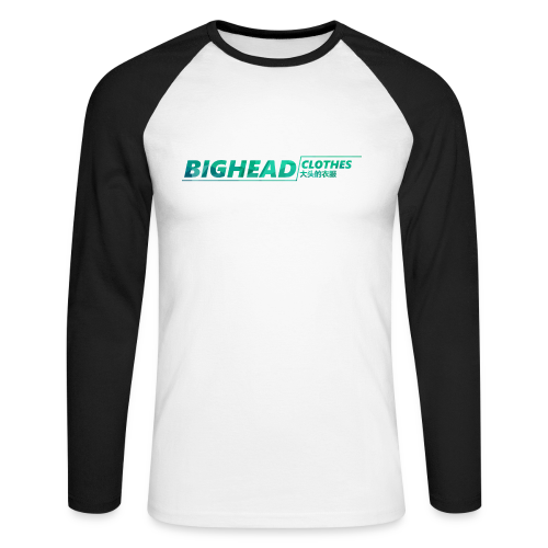 BigHead Clothes Exclu Street - T-shirt baseball manches longues Homme