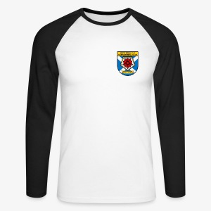 Montrose FC Supporters Club - Men's Long Sleeve Baseball T-Shirt