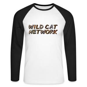 WildCatNetwork 1 - Men's Long Sleeve Baseball T-Shirt