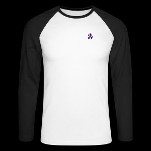RF LOGO - Men's Long Sleeve Baseball T-Shirt