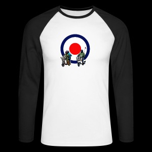 Mods - Men's Long Sleeve Baseball T-Shirt