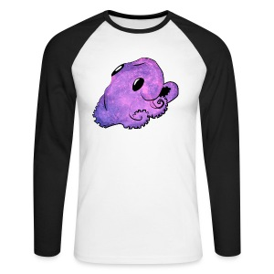 Kawaii octopus - Men's Long Sleeve Baseball T-Shirt