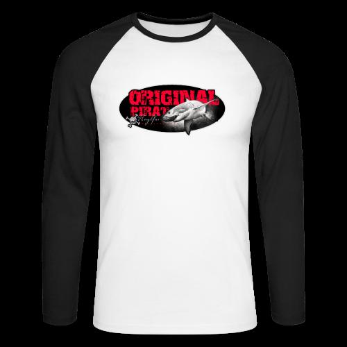 Originalpirat 2018 - Männer Baseballshirt langarm