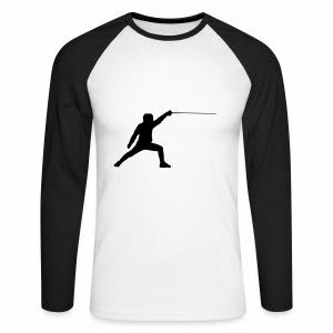 Fencer - Männer Baseballshirt langarm