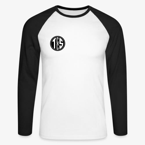 TCCS Logo - Men's Long Sleeve Baseball T-Shirt