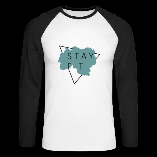 STAYFITBOYS Collection - Langermet baseball-skjorte for menn