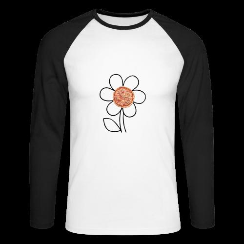 Pizzaflower Edition - Männer Baseballshirt langarm