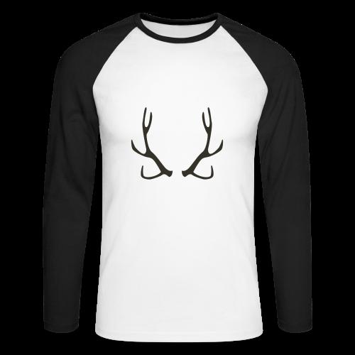 HORN Collection - Langermet baseball-skjorte for menn