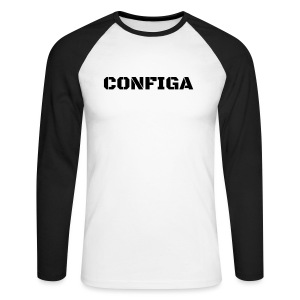 Configa Logo - Men's Long Sleeve Baseball T-Shirt