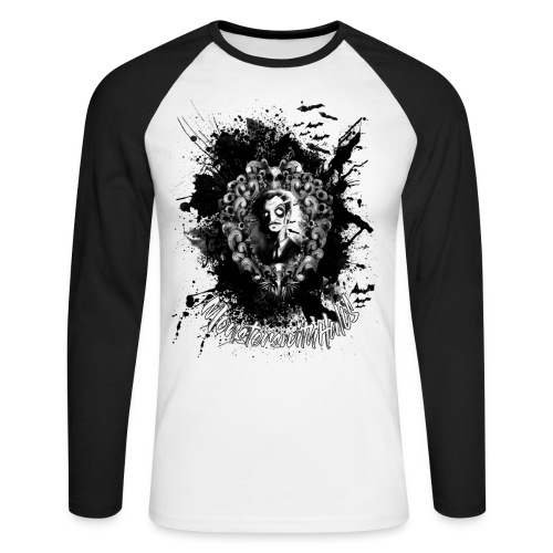 The Abominable Vincent Price - Men's Long Sleeve Baseball T-Shirt