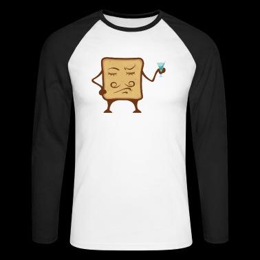 La oss skåle - Langermet baseball-skjorte for menn