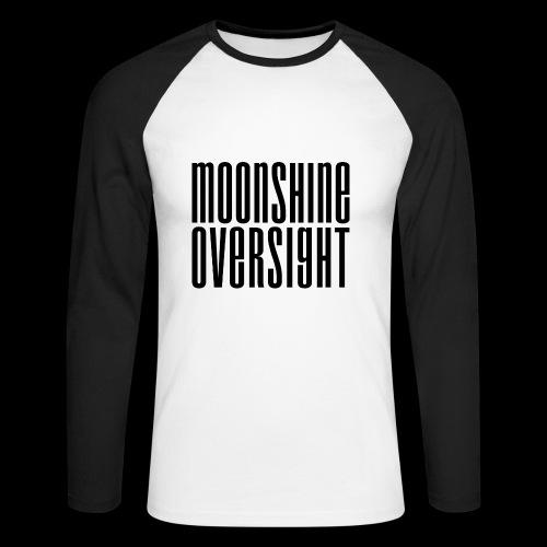 Moonshine Oversight noir - T-shirt baseball manches longues Homme