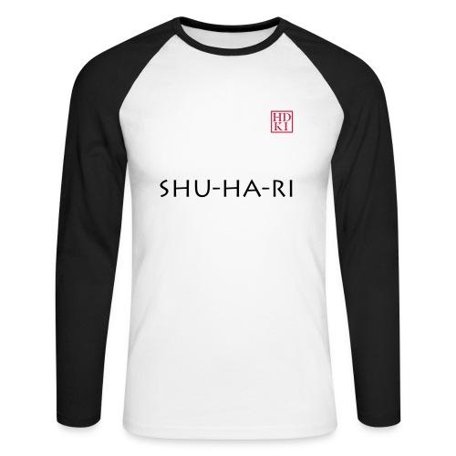 Shu-ha-ri HDKI - Men's Long Sleeve Baseball T-Shirt