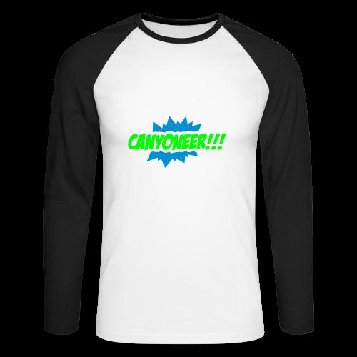 Canyoneer!!! - Männer Baseballshirt langarm