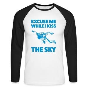Excuse me - Männer Baseballshirt langarm