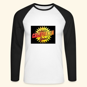 California Spirit Radioshow Vintage - T-shirt baseball manches longues Homme
