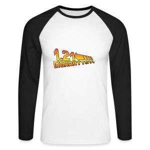 1.21 Gigawatts - Männer Baseballshirt langarm