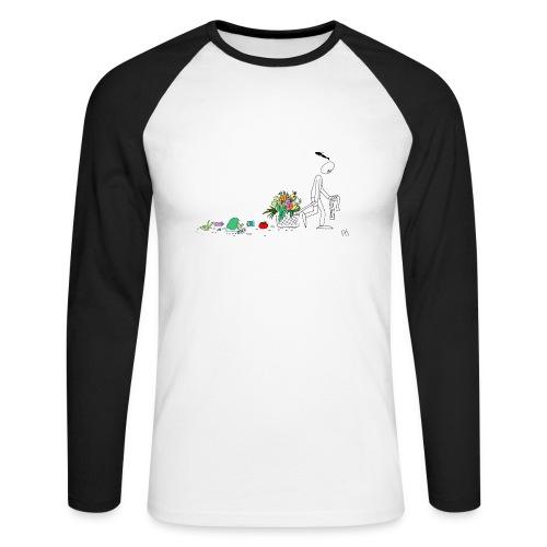 frukt og grønt handleveske - Langermet baseball-skjorte for menn