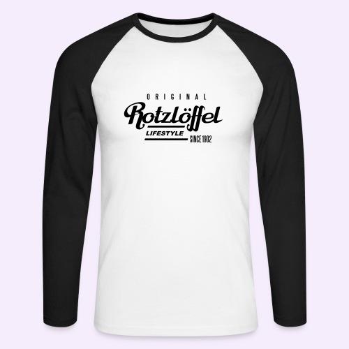Rotz-L - Männer Baseballshirt langarm