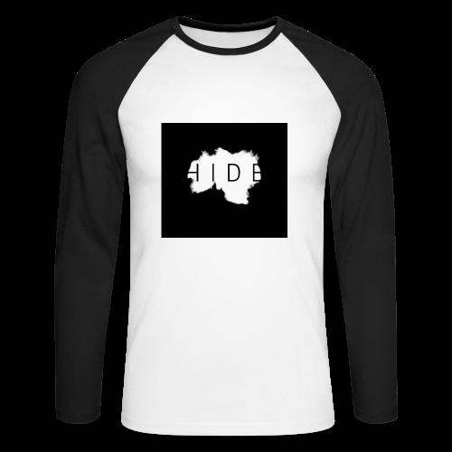 HIDE Collection - Langermet baseball-skjorte for menn