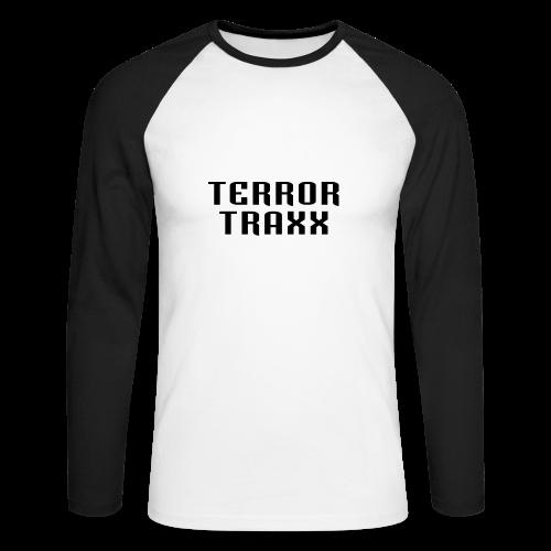 Terror Traxx - Men's Long Sleeve Baseball T-Shirt