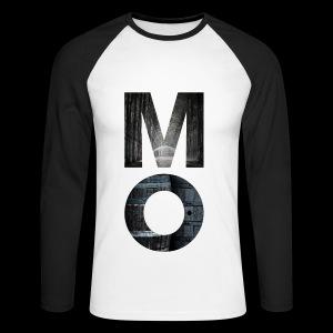 Moonshine Oversight - design épuré - T-shirt baseball manches longues Homme
