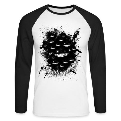 Hidden in the Darkness - Men's Long Sleeve Baseball T-Shirt