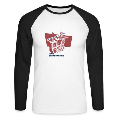 numbers stations hi - Men's Long Sleeve Baseball T-Shirt