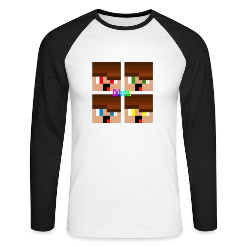 Colorful Merch - Männer Baseballshirt langarm