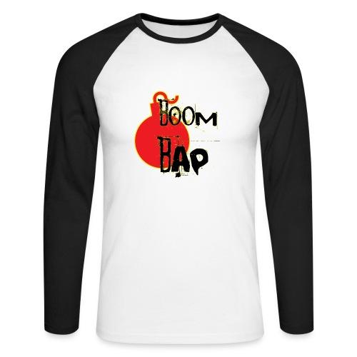 Boom Bap - Men's Long Sleeve Baseball T-Shirt