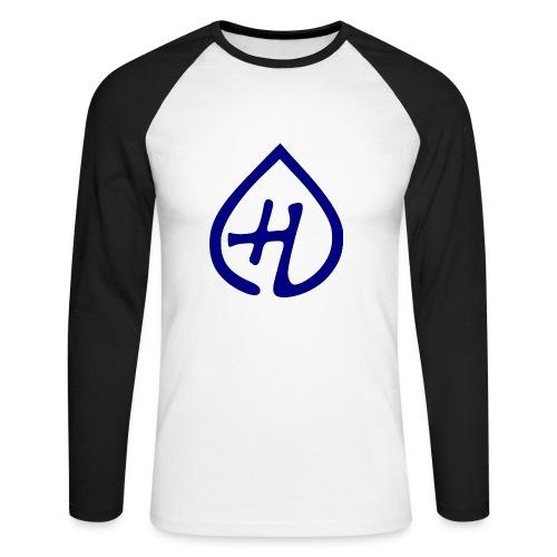 Hangprinter logo - Långärmad basebolltröja herr