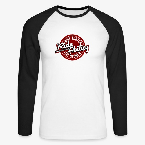 Ride Faster, live Slower - T-shirt baseball manches longues Homme