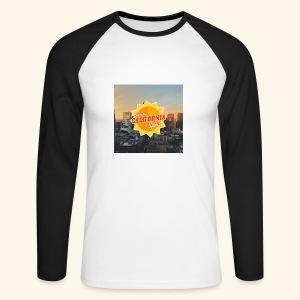 California Spirit City - T-shirt baseball manches longues Homme