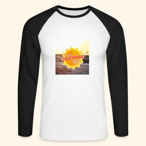 SunRise - T-shirt baseball manches longues Homme