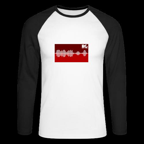Amplitude Edition - Männer Baseballshirt langarm